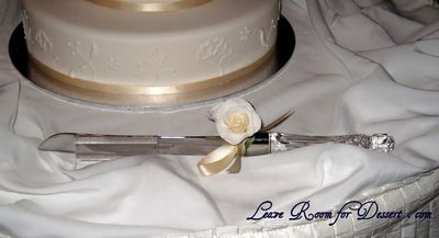 Waterford Knife with Rose