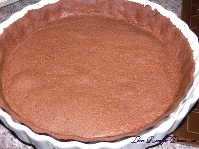 triplechocolatepralinetart16