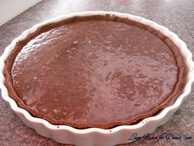 triplechocolatepralinetart17