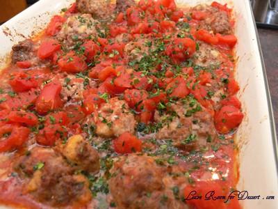 TomatoMeatballsHomemadePasta11