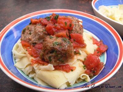 TomatoMeatballsHomemadePasta12
