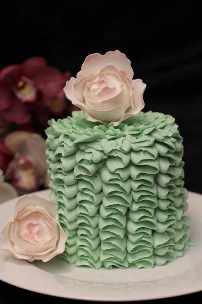 Surprise Heart Cake