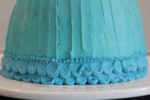 Elsa Cake Skirt base