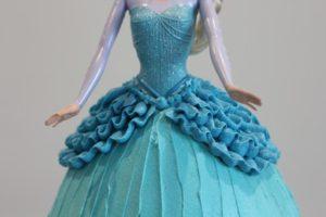 Elsa Cake Ruffles