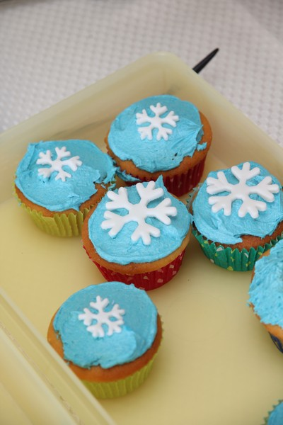 Elsa Cake cupcakes Leave Room for Dessert