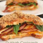 Dukkah Croissants