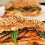 Dukkah Croissants Bacon Pumpkin Halloumi